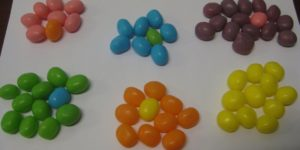 unorganised jelly beans
